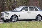 Кроссовер Rolls-Royce Cullinan: новые изображения