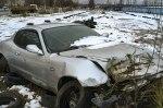 На стоянке обнаружили брошенный Maserati