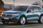 Новый Volkswagen Touareg дебютирует весной 2018 года
