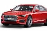 Новый Audi A6 показали на независимом рендере