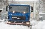 Из-за снегопада полиция запретила въезд в Одессу грузового транспорта