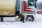 Водителей фур просят не ехать в сторону Киева