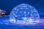Porsche открыла самый высокогорный автосалон: и это стеклянный «пузырь»