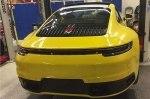 Появилась первая фотографии нового Porsche 911 без камуфляжа
