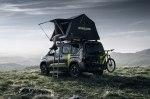 Фургон Peugeot Rifter превратили во внедорожник с палаткой на крыше