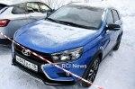 Lada Vesta SW Cross в версии Exclusive попалась в объектив