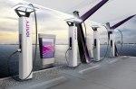 BMW, Daimler, Ford и VW показали, как будут выглядеть их электрозаправки