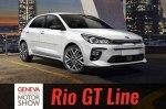 KIA Rio обзавелся топовой модификацией GT-Line