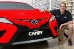 Австралиец построил Toyota Camry из Lego в натуральную величину