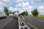 На стратегически важной дороге в Запорожской области завершен ремонт