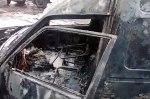 Созданный украинцем электромобиль сгорел посреди улицы