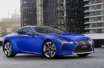 Купе Lexus LC обзавелось спецверсией Morphic Blue Limited Edition