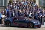 Марка Bugatti выпустила юбилейный 100-й «Широн»