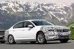 Volkswagen Passat 2019 модельного года выехал на тесты