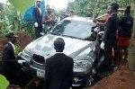 Сын похоронил отца в новеньком BMW X5