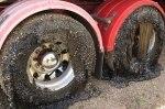 В Австралии расплавленный асфальт повредил 50 автомобилей