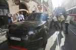 Герой парковки из Украины парализовал движение в центре Праги