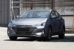 Появились новые фотографии обновленной Hyundai Elantra