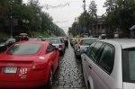 Из-за митинга под Радой движение в центре Киева заблокировано