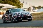 Возрожденную Toyota Supra впервые показали на видео