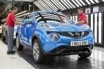 Завод Nissan в Великобритании отмечает выпуск миллионного Juke