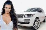 Ким Кардашьян за рекордное время продала дорогостоящий автомобиль Range Rover