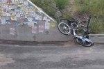 В Киеве растрощили точку проката велосипедов на следующий день после открытия