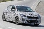 Появились шпионские снимки нового Peugeot 208