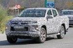 В интернете выложили фото нового Mitsubishi L200