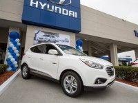 ������ ���������� Hyundai Tucson ������ �� ������