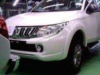 ���������� ������������ ������ Mitsubishi L200