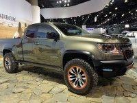 ����� Chevrolet Colorado ����������� ��� ����������