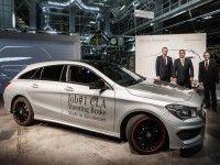 ���������� ������������ ������ Mercedes-Benz CLA Shooting Brake