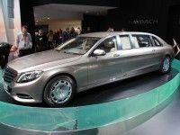����� Mercedes-Benz Pullman ������� � ����������� ����