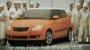 Рекламный ролик Fabia