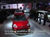 Премьера Фиат Панда 4х4 на Парижском автосалоне