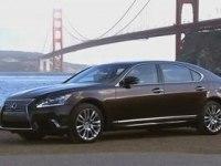 Промовидео Lexus LS 600h