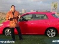 Обзорное видео автомобиля Toyota Matrix