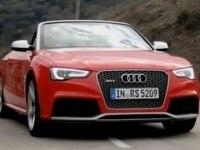 Тест-драйв Audi RS5 Cabriolet (немецкий)