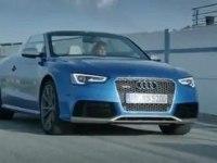 Промовидео Audi RS5 Cabriolet