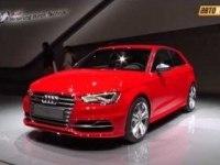 Audi S3 в Париже