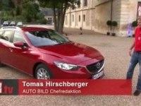 Видеообзор Mazda6 Wagon от Autobild