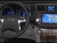 Интерьер Toyota Highlander Hybrid