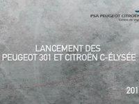 Сборка Peugeot 301 и Citroen C-Elysee