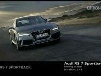 Промовидео Audi RS7 Sportback