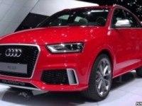 Audi RS Q3 на автосалоне в Женеве
