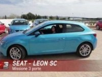 Испанский видеообзор Seat Leon SC