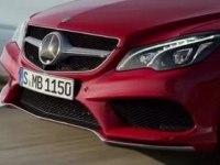 Промо-видео Mercedes E-Class Coupe