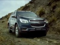 Реклама Chevrolet Trailblazer