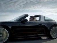 Промо-видео Porsche 911 Targa